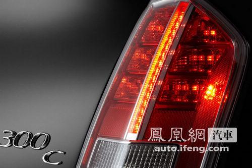改款克莱斯勒300预告图发布 即将登陆北美车展