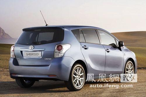 广汽丰田将推出国产Verso 广州车展首发亮相