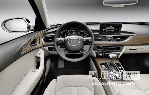 全新一代奥迪A6官图发布 2011北美车展将首发