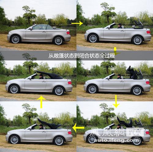 凤凰网汽车试驾宝马1系双门/敞篷版 低配但时尚(4)
