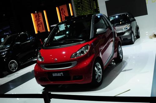 广州车展探营 2011款奔驰Smart更精致更便宜