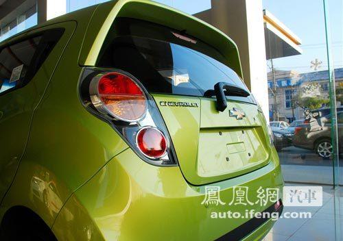 新一代雪佛兰Spark亮相广州车展 市场前景解析