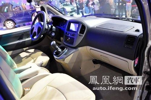 风行2011款菱智广州车展上市 售价9.89-16.48万