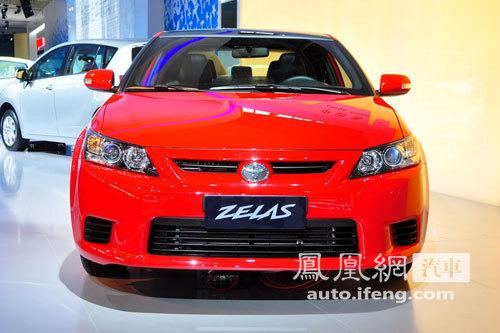 广汽丰田ZELAS轿跑广州车展亮相 明年进口引入