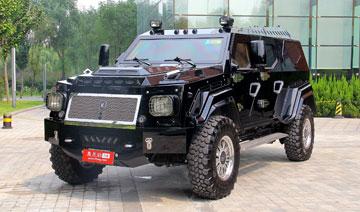 史上最强悍SUV骑士十五世 悍马也要靠边站