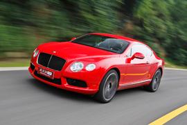 试驾宾利全新欧陆GT V8 像风一样自由