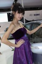 北京现代6号车模