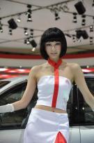 北京奔驰展台车模