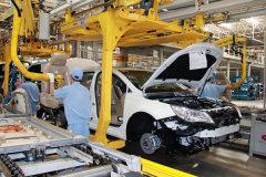 中国制造上汽乘用车 临港工厂总装车间
