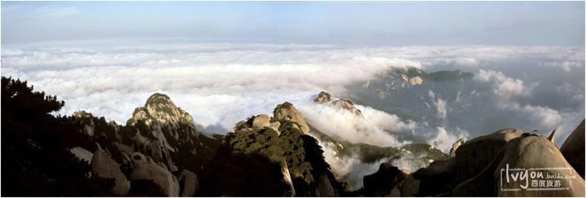 60平方公里的风景区内,63峰72景,分布着九寺十三庵.