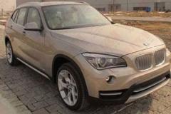 改款宝马X1广州车展发布 有望年底上市