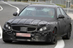 奔驰新款C63 AMG曝光 2014年年底发布
