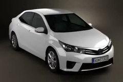 丰田全新卡罗拉造型曝光 6月海外发布