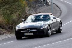 曝新款奔驰SLS AMG GT谍照 加速仅3.6秒