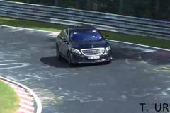 新款奔驰S65 AMG谍照曝光 明年三月发售