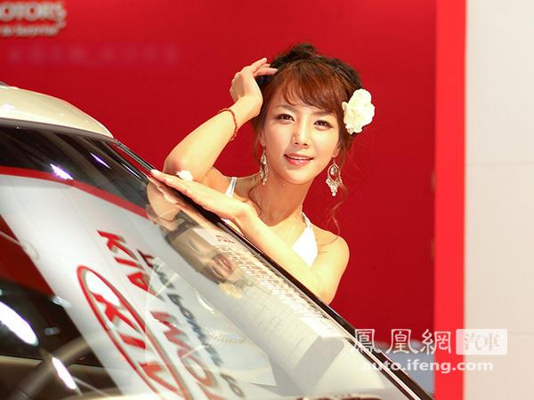 韩国2010十大美女车模 凤凰网