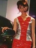 正当红却做过车模的女明星们