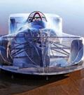高中生设计出的全透明跑车