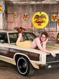 老外无敌爆笑恶搞 美男与帅车的故事