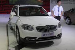 中华V5亮相浦东车展 华晨首款自主SUV