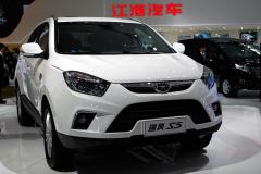 江淮瑞风S5车展首发 或明年初正式上市
