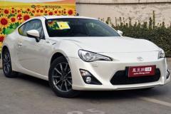 丰田86跑车正式上市 售价26.9-27.9万元