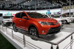 新丰田RAV4车展正式发布 今年引入国内