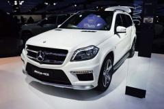 全新奔驰GL63 AMG车展上市 售214.8万