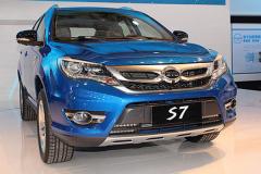 上海车展自主全新高端SUV 向上一步迈进