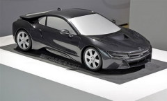 宝马i8量产模型曝光 法兰克福车展首发