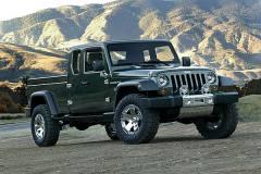 Jeep将推皮卡车型 基于下代牧马人打造