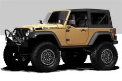 Jeep将推牧马人特别版 命名为沙洲骑兵