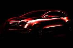 讴歌全新MDX预告图发布 北美车展首发