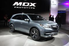 讴歌全新MDX概念车车展发布 将年内上市