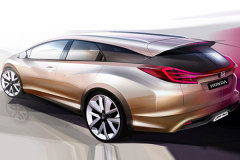 本田日内瓦车展阵容 思域旅行版将首发
