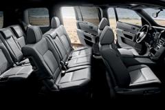 七座SUV第3排腿部空间榜 舒适实用兼备