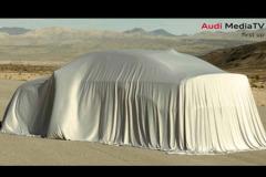 奥迪全新A3三厢版预告图 纽约车展首发
