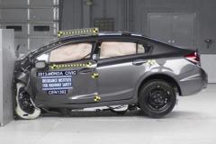 IIHS发布紧凑车碰撞成绩 起亚K3获差评