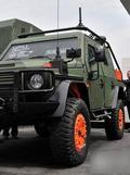 国外某军用车展上亮相的最新特种军车