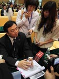 对话比亚迪股份有限公司董事长兼总裁王传福