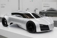 奥迪设计大赛作品 看未来汽车长什么样