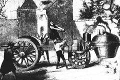法国炮兵大尉尼古拉斯•古诺的蒸汽车