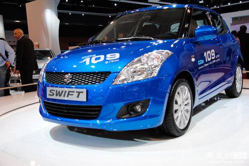 广州车展新车点评 新一代雨燕对比四款A0级新车