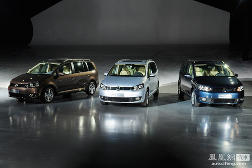 上海大众新Polo/新途安上市 售8.59/14.98万起