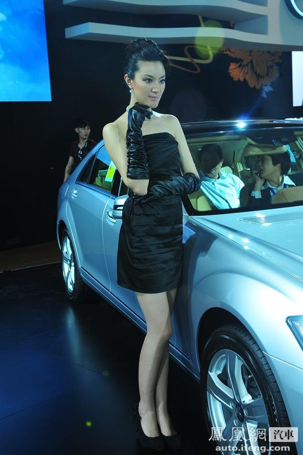 【图】车模高清图片_奔驰3号车模 2010青岛国际车展