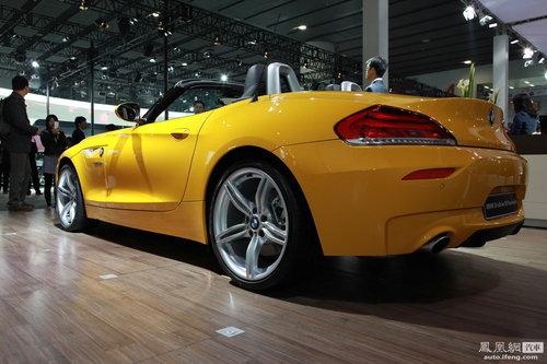 宝马Z4两款新车正式上市 售价90.6-92.8万元