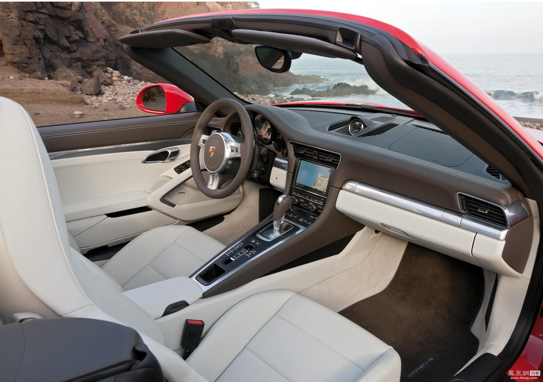 2012款保时捷911卡雷拉敞篷版官图高清图片