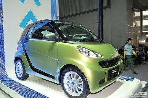 2011款Smart广州车展正式上市 售价11.5-22.5万