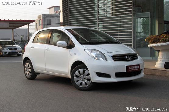 11款丰田雅力士优惠1.9万元 有现车出售