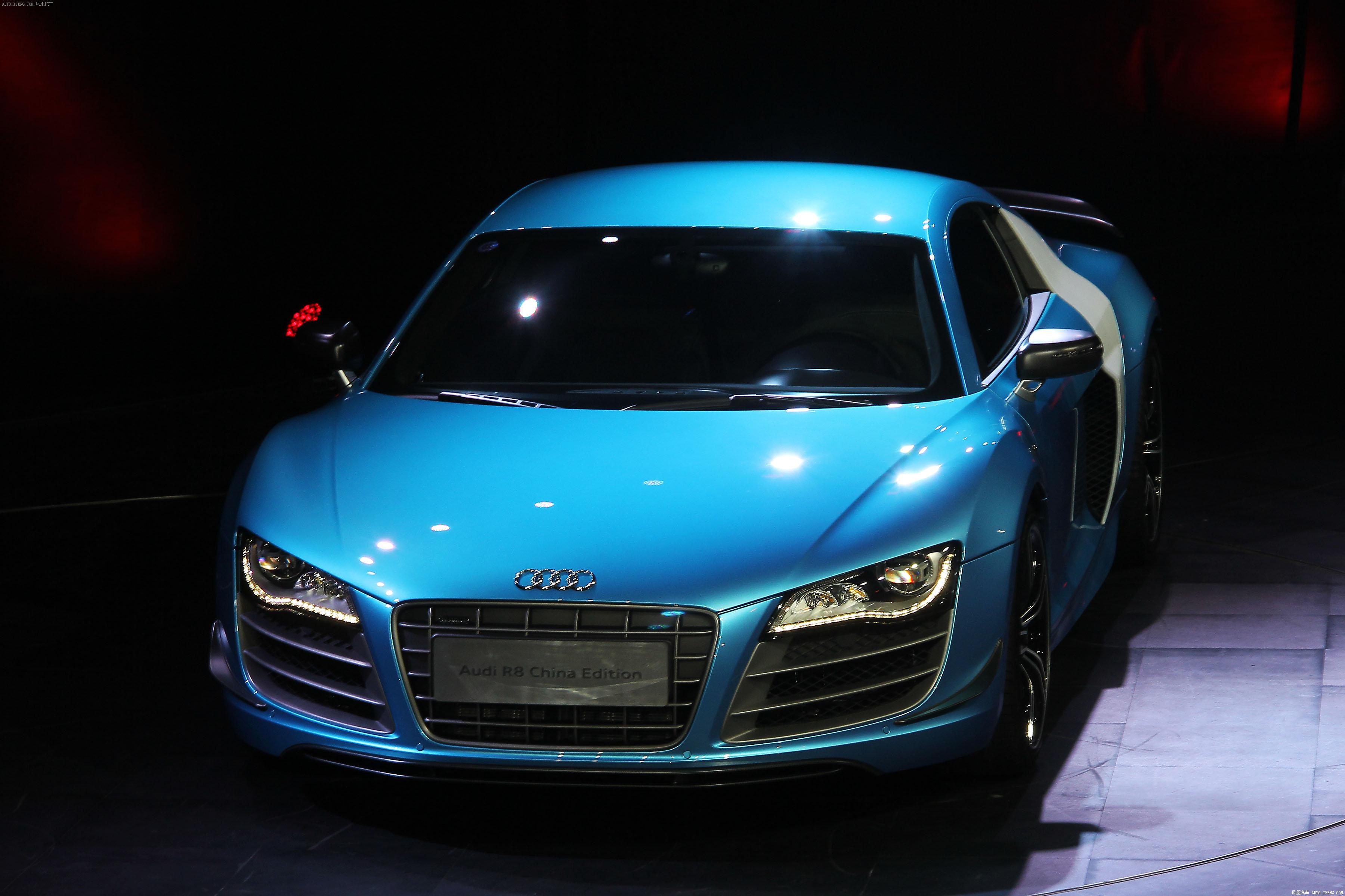 奥迪r8中国专享型上市 售价为262.8万元 高清图片